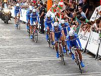 Team Andalucia during Special Crono Stage.August 17,2012. (ALTERPHOTOS/Alfaqui/Paula Otero) /NortePhoto.com<br /> <br /> **SOLO*VENTA*EN*MEXICO**<br /> **CREDITO*OBLIGATORIO** <br /> *No*Venta*A*Terceros*<br /> *No*Sale*So*third*<br /> *** No Se Permite Hacer Archivo**<br /> *No*Sale*So*third*