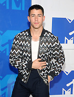 NEW YORK, NY - AUGUST 28  Nick Jonas attend the 2016 MTV Video Music Awards at Madison Square Garden on August 28, 2016 in New York City Credit John Palmer / MediaPunch