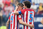 Fernando Torres (L) of Atletico de Madrid and Tiago Cardoso Mendes (R) of Atletico de Madrid react during their La Liga match between Atletico de Madrid vs Athletic de Bilbao at the Estadio Vicente Calderon on 21 May 2017 in Madrid, Spain. Photo by Diego Gonzalez Souto / Power Sport Images
