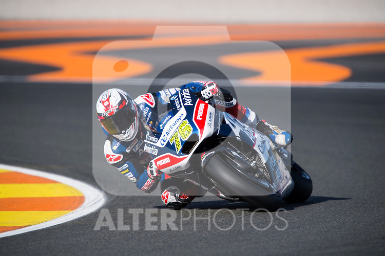 VALENCIA, SPAIN - NOVEMBER 11: Loris Baz during Valencia MotoGP 2016 at Ricardo Tormo Circuit on November 11, 2016 in Valencia, Spain