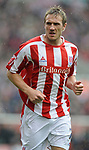 Liam Lawerence of Stoke City during the Championship League match at The Britannia Stadium, Stoke. Picture date 4th May 2008. Picture credit should read: Simon Bellis/Sportimage