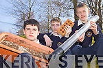 YOUNG SCIENTISTS: Rathmore students Daniel O'Mahony, Chris O'Leary and Daniel Woodford whose recent Young Scientist project was selected for the Science for Development Day in Dublin this week.