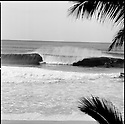 From gerry lopez house, during the rip curl pro