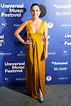 Spanish actress Toni Acosta during the photocall of Jamie Cullum's concert in the Universal Music Festival 2019. July 22, 2019. (ALTERPHOTOS/Acero)