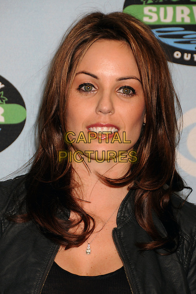 "DANIELLE DeLORENZO.""Survivor"" 10 Year Anniversary Party held at CBS Studios, Los Angeles, California, USA, 9th January 2010..portrait headshot black .CAP/ADM/BP.©Byron Purvis/AdMedia/Capital Pictures."