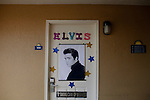 Scenes from Memphis, Tennessee and Clarksdale, Mississippi of blues clubs and Graceland during Elvis Week in August of 2012.