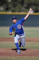 Chicago Cubs pitcher Rob Zastryzny (64) during an Instructional League game against the San Francisco Giants on October 18, 2013 at Giants Baseball Complex in Phoenix, Arizona.  (Mike Janes/Four Seam Images)