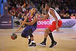League ACB-ENDESA 2017/2018 - Game: 20.<br /> FC Barcelona Lassa vs Retabet Bilbao Basket: 90-58.<br /> Phill Pressey vs Jonathan Tabu.