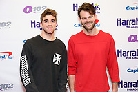 PHILADELPHIA, PA - DECEMBER 6 :  The Chainsmokers pictured back stage at Q102's Jingle Ball at a meet and greet at the Wells Fargo Center in Philadelphia, Pa on December 6, 2017  ***HOUSE COVERAGE Credit: Star Shooter / MediaPunch /nortephoto.com NORTEPHOTOMEXICO