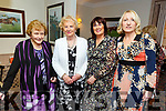Maire and Peg King, Breda O'Callaghan and Kate Carroll attending the Spa Fenit Hospice annual Ladies Midsummer Lunch at the Oyster Tavern on Saturday.