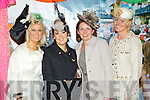 Pictured at Listowel Races, Ladies Day on Friday from left: sisters Helena Carey (Abbeydorney) and  Breda Carey (Listowel), and sisters Susan O'Callaghan (Tralee) and Linda O'Callaghan (Tralee).