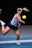 Paige Hourigan competes in the women's singles final.  2017 Wellington Open tennis championship finals at Renouf Tennis Centre in Wellington, New Zealand on Friday, 22 December 2017. Photo: Dave Lintott / lintottphoto.co.nz