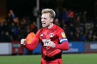 O's Josh Wright at FT during Cambridge United vs Leyton Orient, Sky Bet EFL League 2 Football at Abbey Stadium on 21st December 2019
