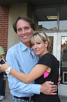 Executive Producer Chris Goutman & Kelley Menighan Hensley - As The World Turns' shoots its last show on June 23, 2010 at the studios in Brooklyn, New York. (Photo by Sue Coflin/Max Photos)