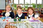 Starting their first day a Flemby National school last Wednesday August 28th were L-R Emily Jane Rola,Darragh O'Sullivan and Aisha Pabon.