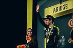 Simon Yates (GBR) Mitchelton-Scott wins Stage 15 of the 2019 Tour de France running 185km from Limoux to Foix Prat d'Albis, France. 20th July 2019.<br /> Picture: ASO/Thomas Maheux | Cyclefile<br /> All photos usage must carry mandatory copyright credit (© Cyclefile | ASO/Thomas Maheux)