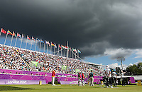 Olympics - London 2012 Olympic Games - Lord's Cricket Ground   - 29/7/12..Archery - Women's Team - General view of a match between China and Italy..Mandatory Credit: Action Images / Matthew Childs..Livepic