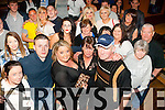 Nifty fifty<br /> -----------<br /> Ann Flaherty,Ballyheigue (front centre) had a terrific night celebrating her 50th birthday in Kirby's bar in the town last Saturday along with many friends and family