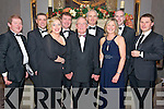 Enjoying the Irish Hotel Federation Christmas Ball in The Malton Hotel last Friday night were (L-R) John Brennan, Rory O'Sullivan, Gwen Brennan, Donal Deely, Sean O'Brien, Maurice Horgan, Jason Doyle and Caroline and Pat O'Sullivan.