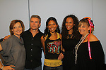 Orleigh Cassidy, Kurt McKinney, Karla Mosley, Yvonna Wright, Kim Zimmer at the 9th Annual Rock Show for Charity to benefit the American Red Cross of Greater New York on October 9, 2010 at the American Red Cross Headquarters, New York City, New York. (Photos by Sue Coflin/Max Photos)