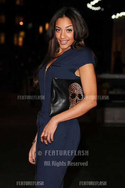 """Amal Fashanu arrives for the """"Jack Reacher"""" premiere at the Odeon Leicester Square, London. 10/12/2012 Picture by: Steve Vas / Featureflash"""