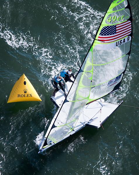 USA 9, Fleet: 49er, Crew: Erik Storck, Trevor Moore, Country: USA
