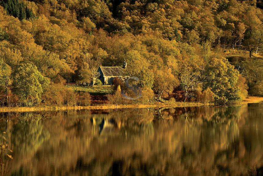 Loch Achray and Loch Achray Church, Loch Lomond and The Trossachs National Park