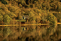 Loch Achray and Loch Achray Church, Loch Lomond and The Trossachs National Park
