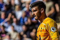 Paulo Gazzaniga during the Premier League match between Leicester City and Tottenham Hotspur at the King Power Stadium, Leicester, England on 21 September 2019. Photo by James  Gill / PRiME Media Images.