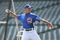 Alan Trammell of the Chicago Cubs vs. the San Diego Padres: June 18th, 2007 at Wrigley Field in Chicago, IL.  Photo by Mike Janes/Four Seam Images