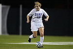 10 November 2012: Duke's Maddy Haller. The Duke University Blue Devils played the Loyola University Maryland Greyhounds at Koskinen Stadium in Durham, North Carolina in a 2012 NCAA Division I Women's Soccer Tournament First Round game. Duke won the game 6-0.