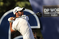 Adrian Otaegui (ESP) on the 16th tee during the final round of the DP World Tour Championship, Jumeirah Golf Estates, Dubai, United Arab Emirates. 18/11/2018<br /> Picture: Golffile | Fran Caffrey<br /> <br /> <br /> All photo usage must carry mandatory copyright credit (© Golffile | Fran Caffrey)