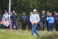 Luke Donald (ENG) on the 12th green during Round 1of the Sky Sports British Masters at Walton Heath Golf Club in Tadworth, Surrey, England on Thursday 11th Oct 2018.<br /> Picture:  Thos Caffrey | Golffile<br /> <br /> All photo usage must carry mandatory copyright credit (© Golffile | Thos Caffrey)