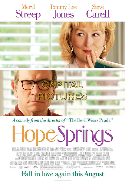 ONE SHEET POSTER ART.in Hope Springs (2012) .*Filmstill - Editorial Use Only*.CAP/FB.Supplied by Capital Pictures.