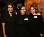 Sarah Stern, Danielle Cruz and Jill Dearmon attends The Vineyard Theatre's Emerging Artists Luncheon at The National Arts Club on November 9, 2017 in New York City.