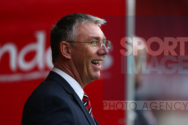 Sheffield United's manager, Nigel Adkins - Sheffield United vs Bradford City - Skybet League One - Bramall Lane - Sheffield - 28/12/2015 Pic Philip Oldham/SportImage