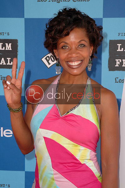 J.Karen Thomas<br />at the Los Angeles Film Festival Screening of &quot;Who Killed The Electric Car&quot;. Landmark Regent Theater, Los Angeles, CA. 06-24-06<br />Dave Edwards/DailyCeleb.com 818-249-4998