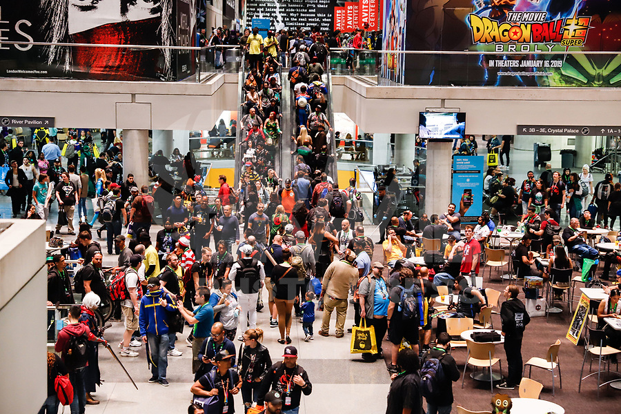 NOVA YORK, EUA, 05.10.2018 - COMIC-CON - Público durante a Comic Con no Jacob K. Javits Convention Center em Nova York nos Estados Unidos nesta sexta-feira, 05. (Foto: William Volcov/Brazil Photo Press)