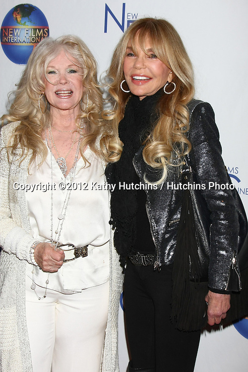LOS ANGELES - DEC 13:  Connie Stevens, Dyan Cannon arrives to the 'Saving Grace B. Jones' Premiere at ICM Screening Room on December 13, 2012 in Century CIty, CA