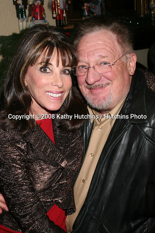 ***EXCLUSIVE***.Kate & Ron Linder at Heather Tom's Annual Christmas Party at her home in Glendale, CA on December 13, 2008.©2008 Kathy Hutchins / Hutchins Photo..EXCLUSIVE..                .