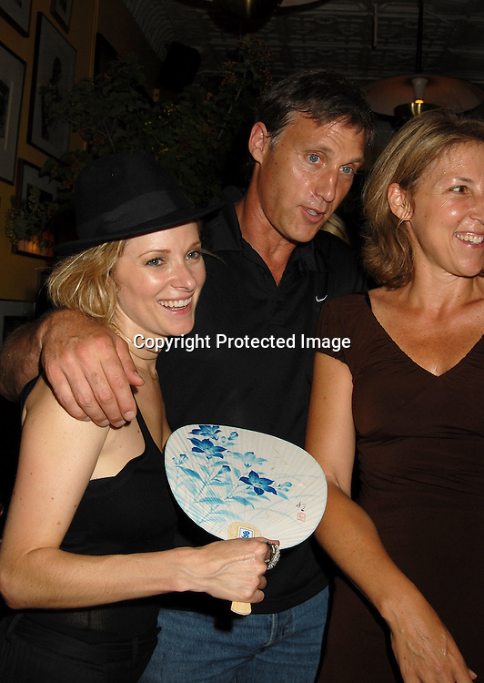 "Cady McClain, Hunt Block, sister Amy..at a party for All My Children's Cady McClain's debut album ""BlueGlitterFish"" on June 11, 2006 at The Kitchen Club in Soho. ..Robin Platzer, Twin Images"