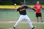 Giants vs. Cardinals in Germantown Baseball League action in Germantown, Tenn. on Saturday, May 30, 2015. Cardinals won 6-3.