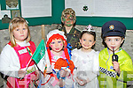 FANCY DRESS; Some of the children from Kilflynn who dressed up in their fancy dress for the Kilflynn St Patricks Day parade on Saturday l-r: Ellie Mc Carthy, Grace baker, Cillian baker, Chomihe McElligott and Cillian Hussey.....