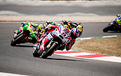 June 11th 2017, Barcelona Circuit, Montmelo, Catalunya, Spain; MotoGP Grand Prix of Catalunya, Race Day; Danilo Petrucci of the OCTO Pramac Racing Motogp Team