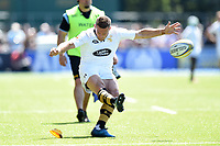 Jimmy Gopperth of Wasps kicks for the posts. Aviva Premiership Semi Final, between Saracens and Wasps on May 19, 2018 at Allianz Park in London, England. Photo by: Patrick Khachfe / JMP