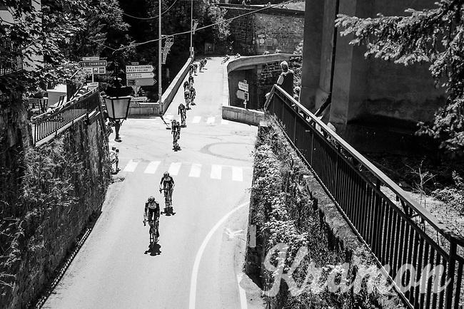 peloton<br /> <br /> 69th Crit&eacute;rium du Dauphin&eacute; 2017<br /> Stage 8: Albertville &gt; Plateau de Solaison (115km)