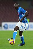 2nd February 2019, Stadio San Paolo, Naples, Italy; Serie A football, Napoli versus Sampdoria; Kalidou Koulibaly of Napoli