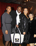 """As The World Turns; Law and Order SVU Tamara Tunie poses with actress Sigra Smith, husband Gregory Generet and mom GG at Hearts of Gold's 16th Annual Fall Fundraising Gala & Fashion Show """"Come to the Cabaret"""", a benefit gala for Hearts of Gold on November 16, 2012 at the Metropolitan Pavilion, New York City, New York.   (Photo by Sue Coflin/Max Photos)"""