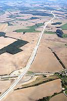 Deutschland, Mecklenburg Vorpommern, Luebeck, Schoenberg Ostseeautobahn, A20,