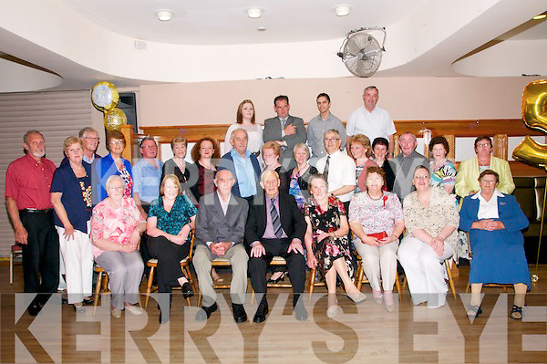 50th Wedding Anniversary: Eddie & Christina Joyce, Gortnasheha, ballybunion celebrating their 50th wedding anniversary with family & friends at the Golf Hotel, Ballybunion on Saturday night last.